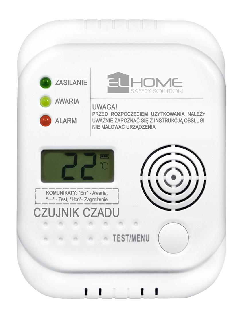 Anglies monoksido detektorius CD-75A4