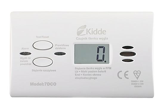 Anglies monoksido detektorius su skaitmeniniu ekranu 7DCO