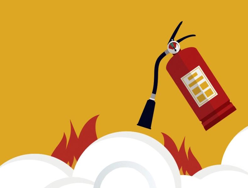 Gesintuvas skirtas gesinti  Angliarūgštės gesintuvas tinka gesinti beveik visų klasių gaisrus, išskyrus C (degių dujų).  Angliarūgštės gesintuvai neteršia, tad puikiai tinka gesinti jautriems įrenginiams ar elektroninei aparatūrai.