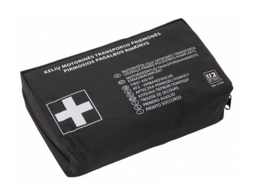 Pirmos pagalbos vaistinėlė PVC dėkle VAM-112